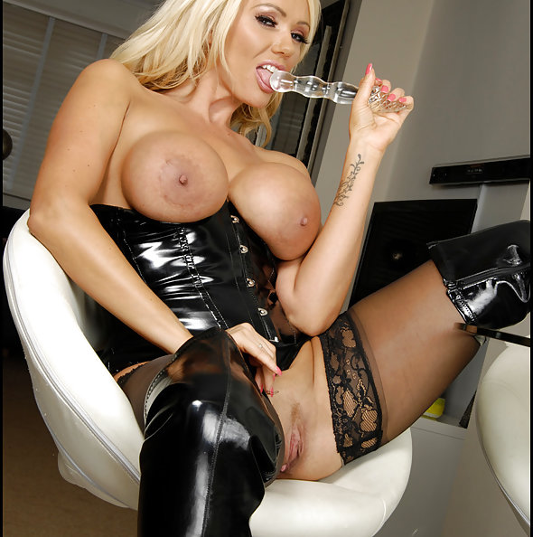 Lucy Zara MILF Stockings Boots